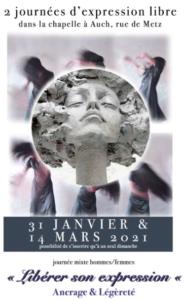 STAGE TERRE & DANSE sur AUCH - 31 janvier et 14 mars 2021